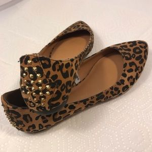 Mossimo Cheetah Print Flats - Size 7